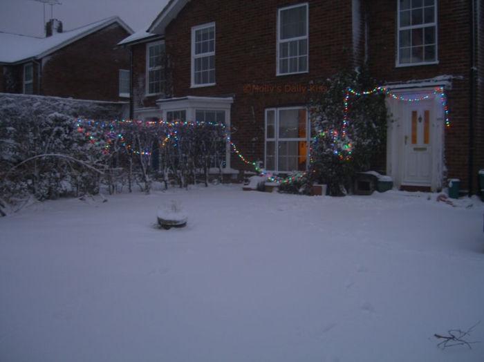 Snow chaos!