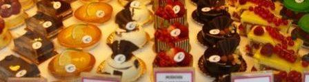 Frech cake shop