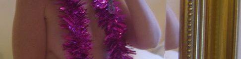 Naked santa girl