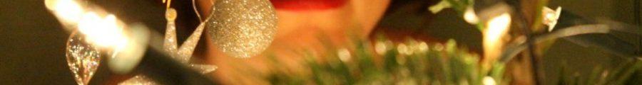 red hot lips, christmas erotic photography, naked woman christmas tree