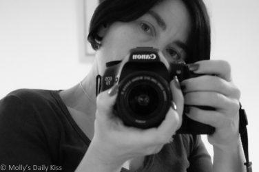 self portrait with camera