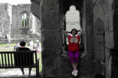 Topless at Bodium Castle