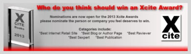 Xcite Books 2013 Awards