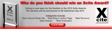 Xcite book awards voting badge