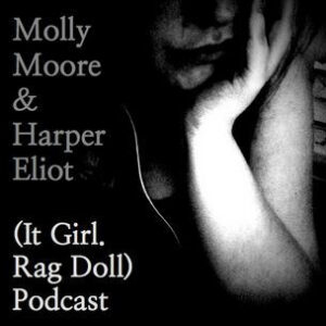 It Girl Rag doll podcast badge