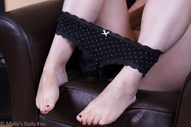 polka dot panties round womens panties