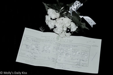 Molly's Wedding bouquet