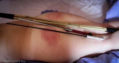 Caning a submissive