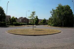 Roundabout for Scavenger Hunt