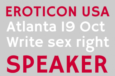Eroticon USA Speakers Badge