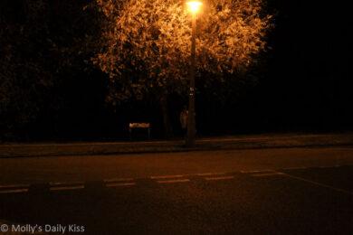 Naked street walking