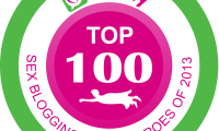 Top 100 Sex Blogging Superheroes of 2013 Badge
