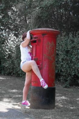 Flashing my public postbox