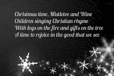 Mistletoe and Wine lyrics