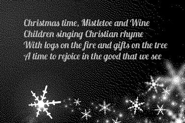 Mistletoe and Wine lyrics