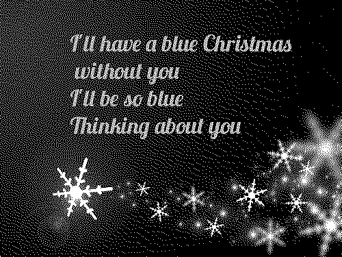 Blue Christmas Lyrics