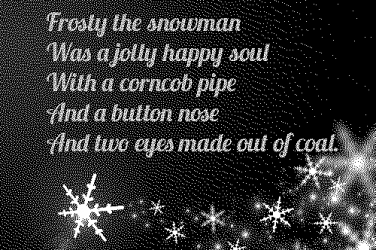 Frosty the snowman lyrics