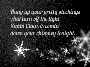 Santa Claus Is Back in Town lyrics