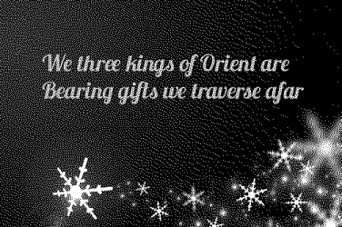 We three kings lyrics