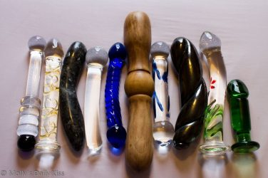 Mollys selection of dildos