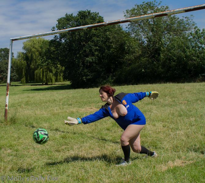 topless womens football