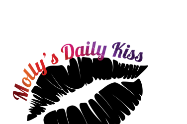 Molly's Daily Kiss badge logo