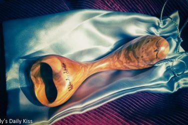 Wooden dildo from Idee du Desir