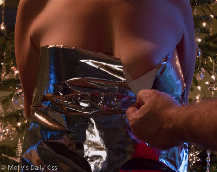 U is for Unwrapping…