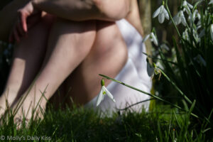 Waiting with Snowdrops