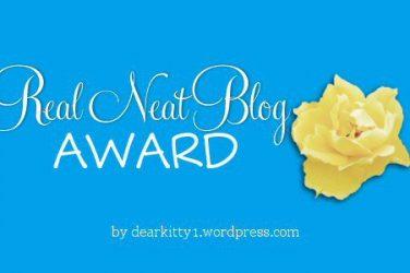 Real Neat Blog Awards Badge