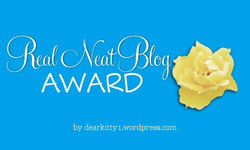Real Neat Blog Awards Badge
