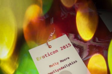Molly's Eroticon 2015 Name badge