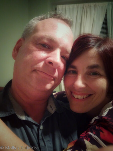 Molly and Michael selfie love