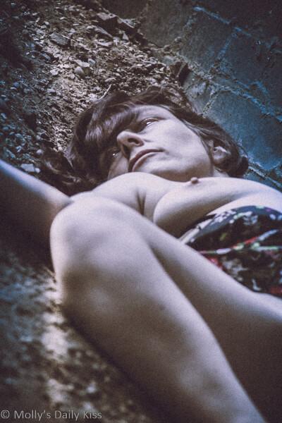Molly as dead corpse