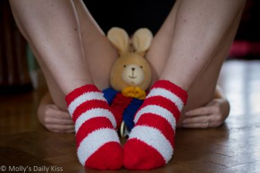 Easter bunny rabbit between mollys thighs easter Cunny