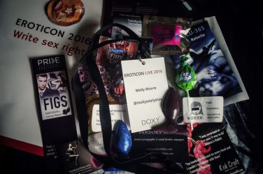 Eroticon Live 2016 weekend goody bag