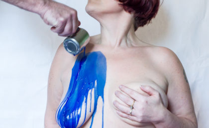 Blue Boobage