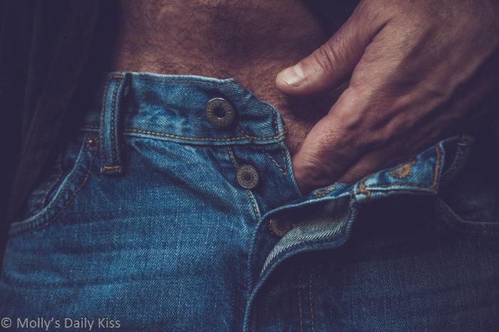 Cream my jeans