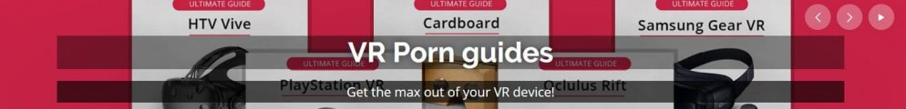 VR Porn guides banner image