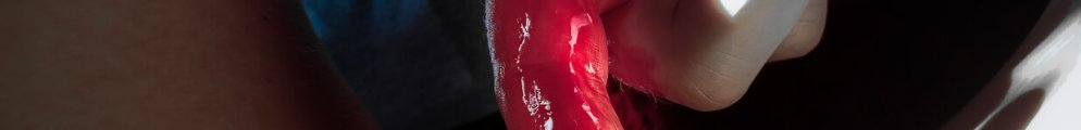 Man's finger between womans thigh covered in period blood which some find taboo