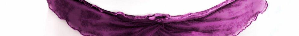 Molly in purple panties