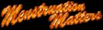 Menstration matters blog badge