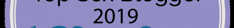 Top 100 Sex Blogs 2019 badge