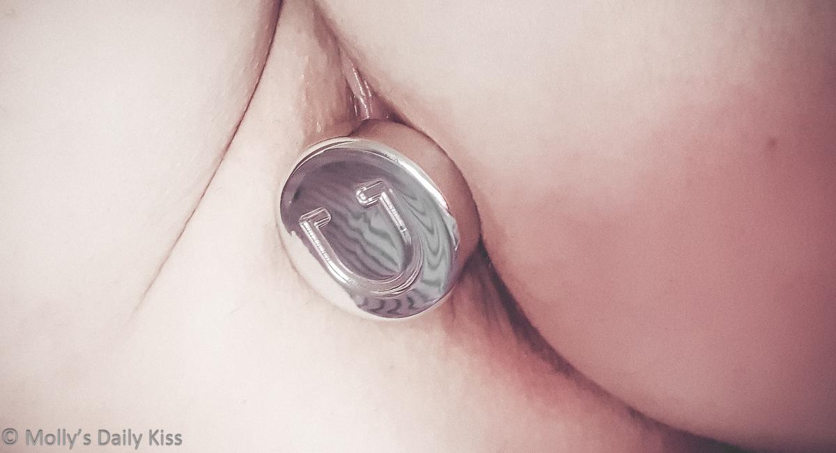 Doxy butt plug in molly's bottom