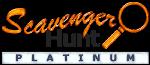 Scavenger hunt blog badge