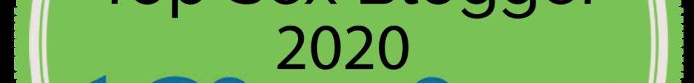 Top 100 sex blogs 2020 badge