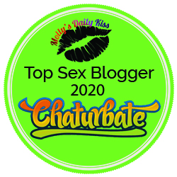 Top 100 sex blogs badge 2020 sponsored by Chaturbate