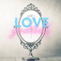 Love yourself blog badge