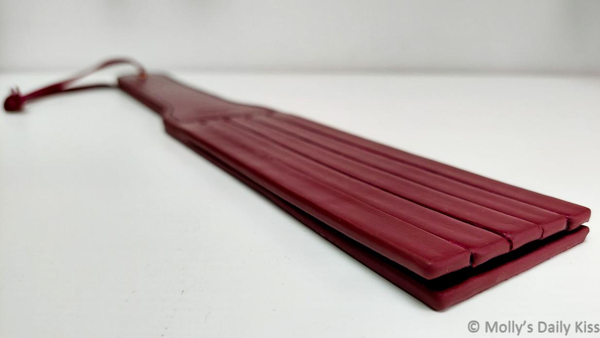 Liebe Seele Leather Split Tawse Paddle